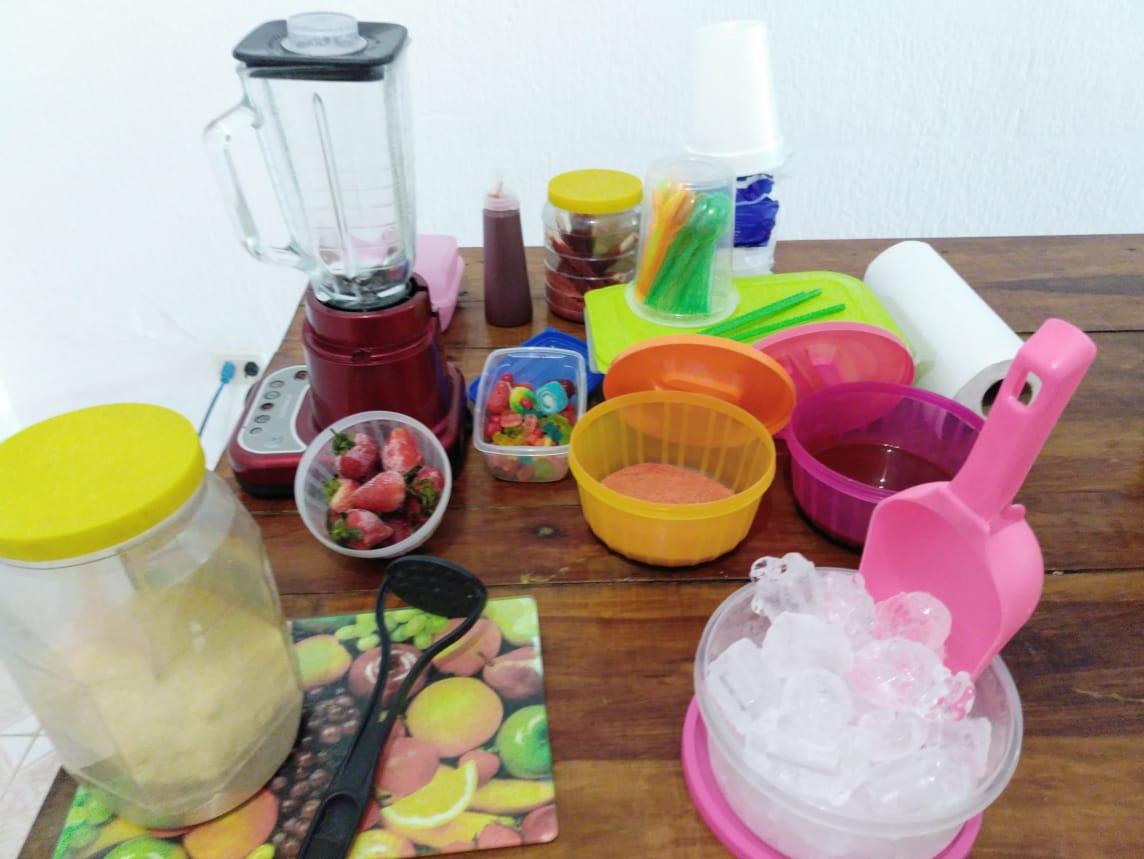 Como hacer chamoyada de fresa