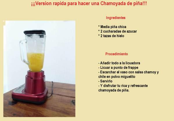 Chamoyada de Piña , como hacerla en 2021