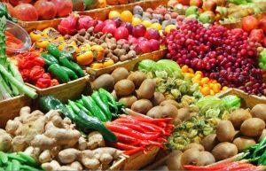 Frutas y Verduras para las chamoyadas
