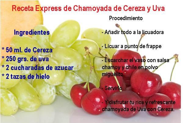 Chamoyada de Uva con Cereza en 2021